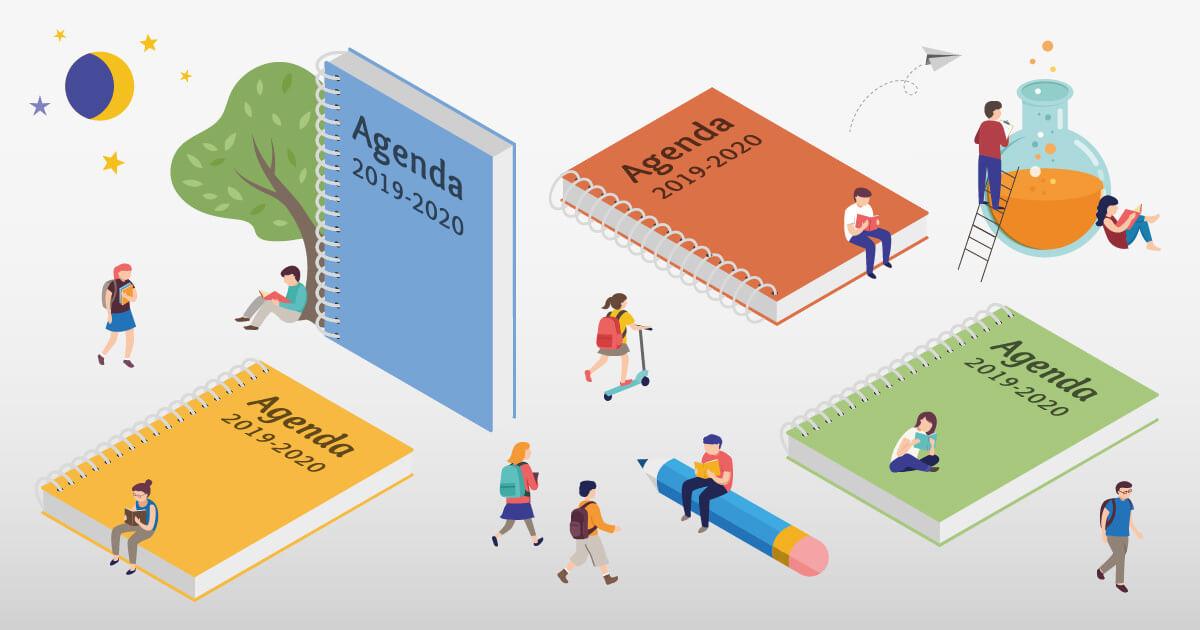 Reserva ya tu agendas escolares para el curso 2019-2020